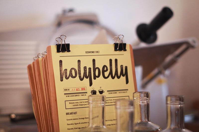 HolyBelly menu