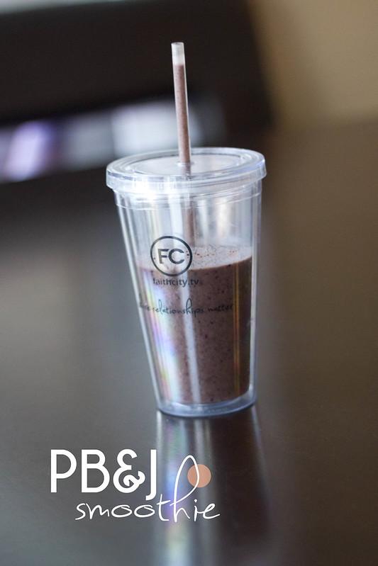 PB&J smoothie header