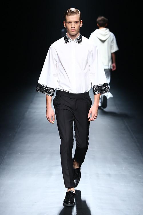 SS14 tokyo CHRISTIAN DADA023_Justin Sterling(Fashion Press)