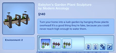 Babylon's Garden Plant Sculpture by Modern Arcology