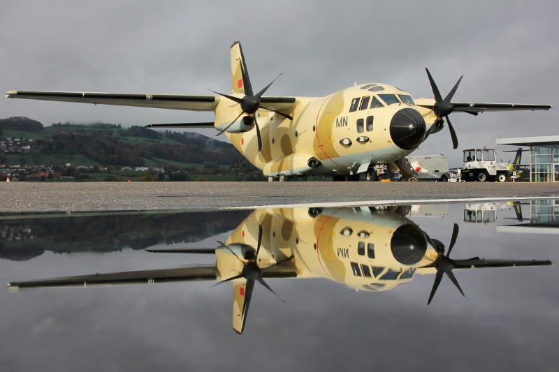 طائرات النقل العاملة بالقوات المسلحة المغربية 10553756266_f6789cafe9_o