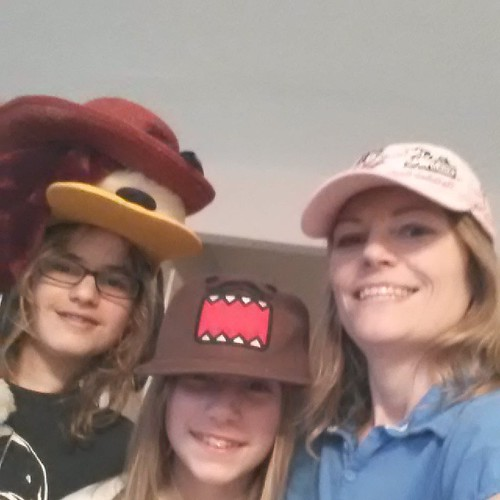 Brother helped us celebrate hat day for #RedRibbonWeek @texasvirtual #texasvirtual