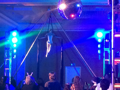Vespertine Circus aerial silks performance