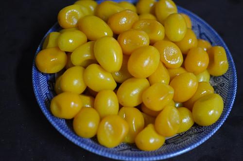 cooked kumquats