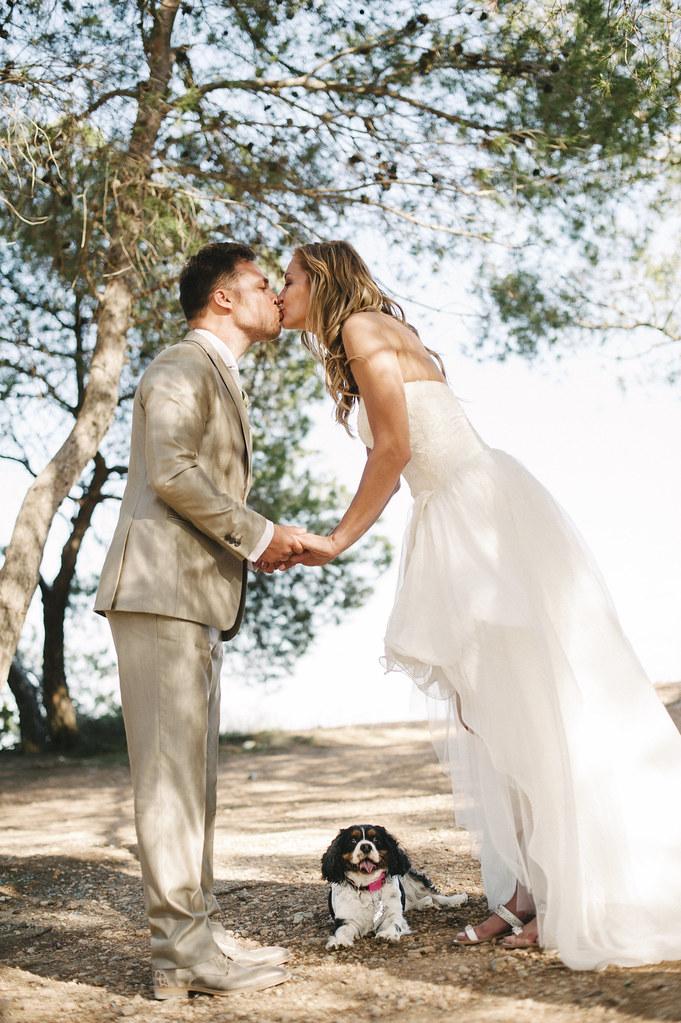 Corine & Robin, real Ibiza wedding