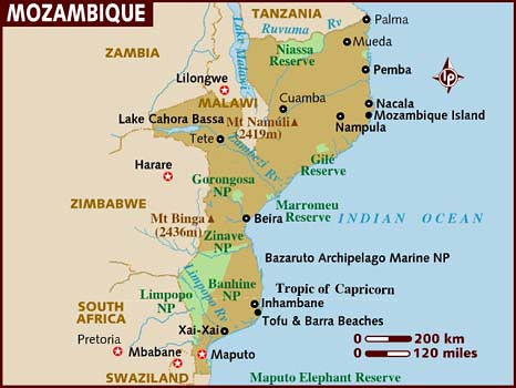 Political Tension in Mozambique in the Runup to the Elections THE