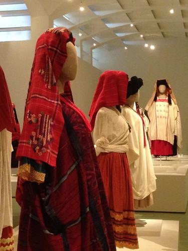 Textile Museum display