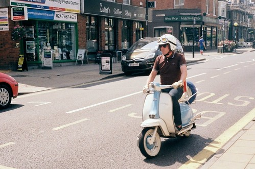 Scooter_Earlsdon Street_Coventry_Jul13