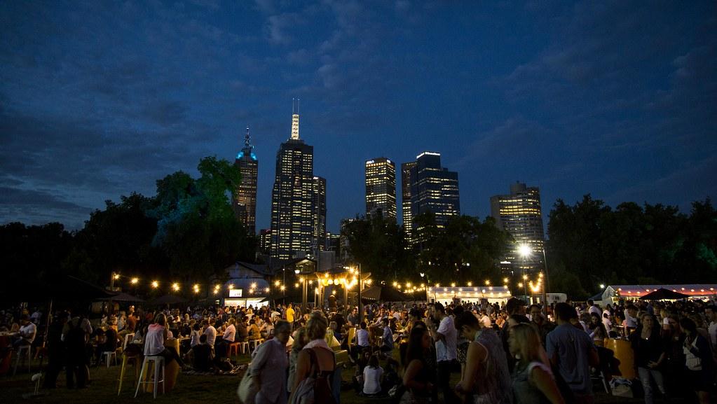 Melbourne's Nightly Noodle Market