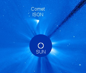 Comet ISON Survives