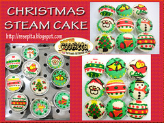 Christmas Steam Cake