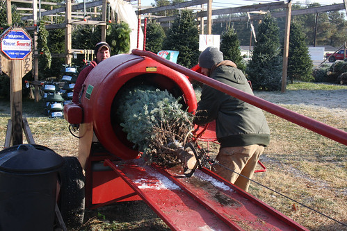 Howey Christmas Tree Baler