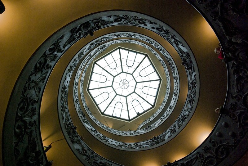 Spiral stairs Vatican
