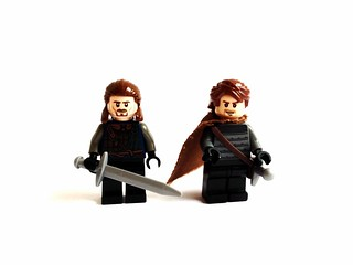 Ned Stark warden of the North, Robb Stark King in the North