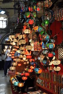 Istanbul Grand Bazaar Lanterns