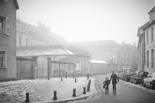 Fog town.