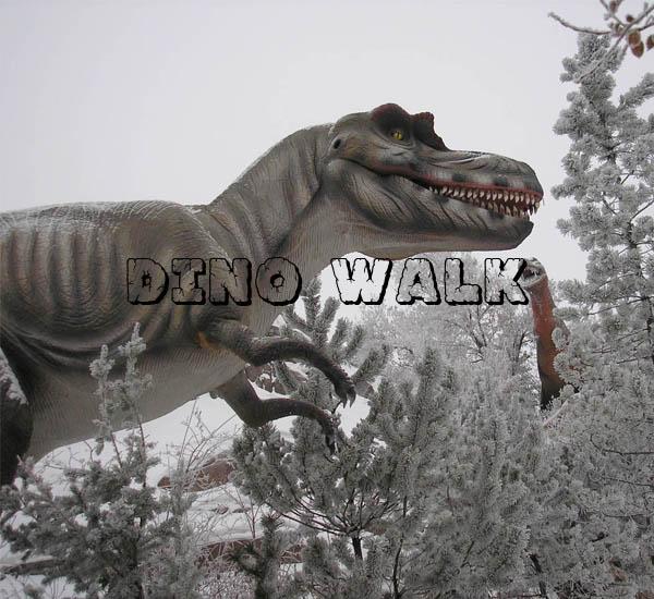 Promote Animatronic Dinosaur