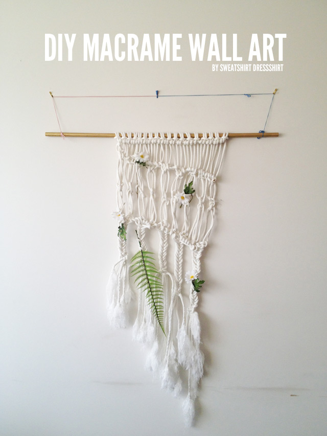 diy macrame wall hanging, crotchet, wall art, bohemian decor