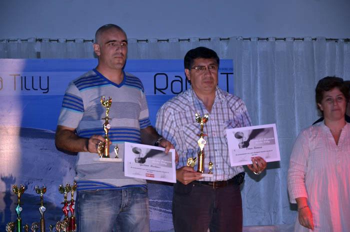 Gustavo Martínez y Omar Romero