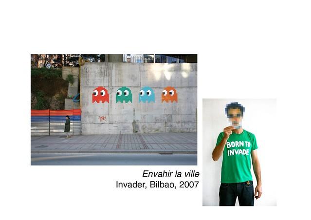 Invader, Bilbao, 2007