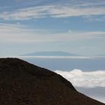 Island of Hawaii, as seen from Maui