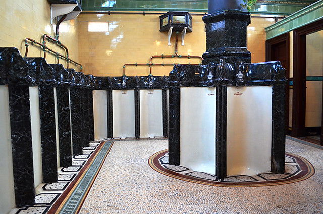 Victorian Toilets, Rothesay, Isle of Bute, Scotland