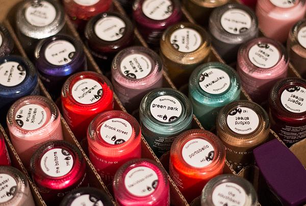 nails inc shades collection