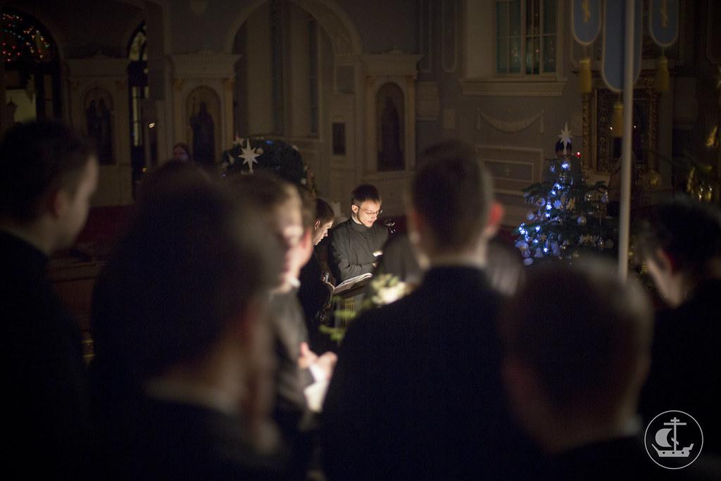 8 января 2014, Богослужение в день праздника Собора Пресвятой Богородицы / 8 January 2014, Synaxis of the Most Holy Theotokos