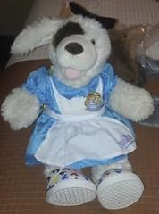 Jo is ready to run as Alice in Wonderland