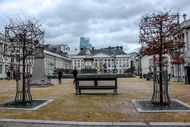 Plaza de los Mártires, Bruselas, Bélgica
