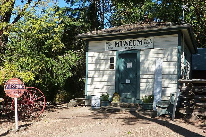 Mayne Island Museum, Mayne Island, Southern Gulf Islands, British Columbia