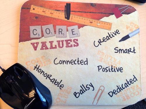 SHIFT Core Values