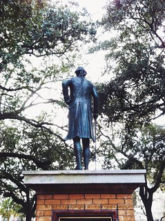 george washinton returns to charleston - back