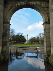 Lambhill Cemetery Arch and Gates