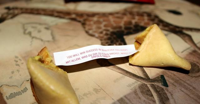 fortune cookie viisaus