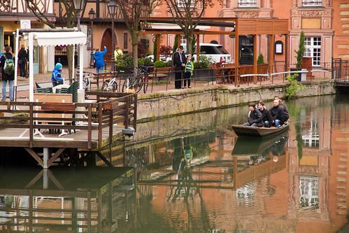 運河の町コルマール