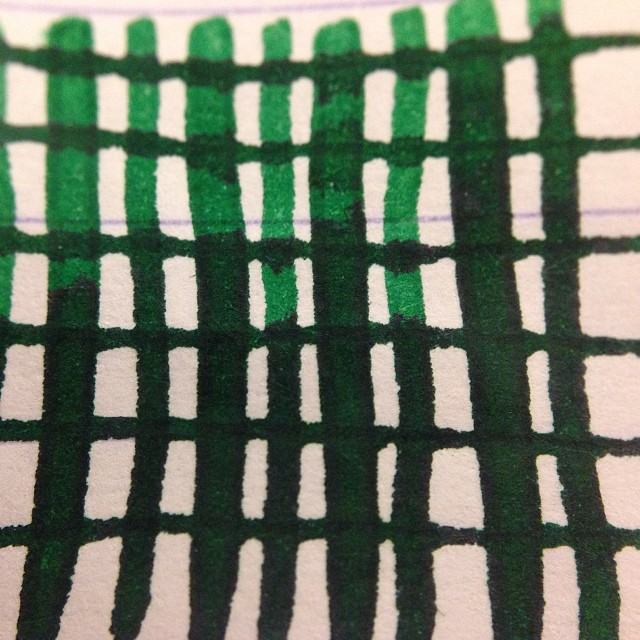 @Montblanc_world Irish Green. #fpgeeks #fountainpens #ink #inks #inkporn #tasteit get some at @andersonpens