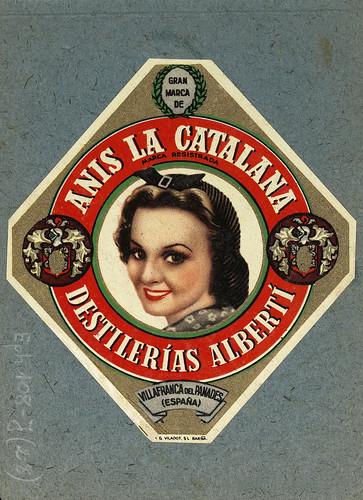 013-Colección de etiquetas de bebidas Álbum de etiquetas de las Destilerías Alberti -1890-1930- Biblioteca Digital Hispánica