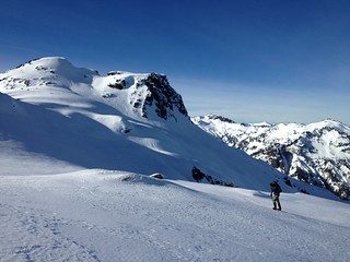 Nearing Mount Ann