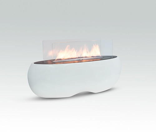 ZEN ethanol fireplace by Planika