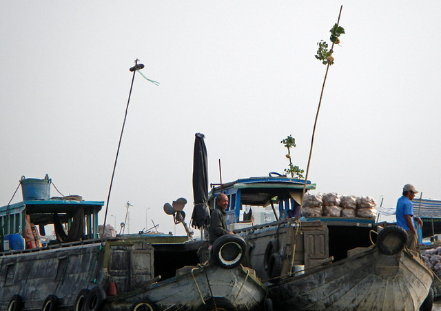 Floating Market Mekong River