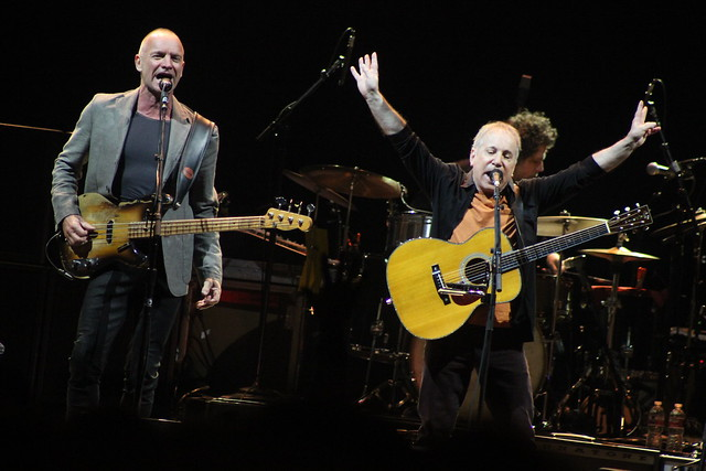 Paul Simon & Sting @ Toyota Center