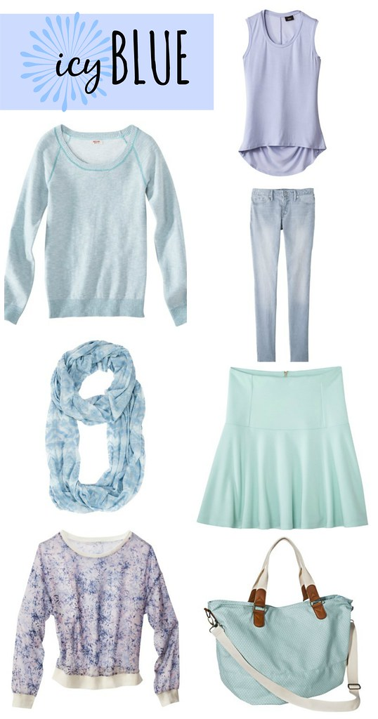 icy blue trend