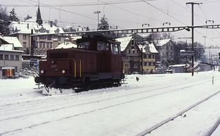 10.02.91 Schaffhausen SBB Em 3/3 18830