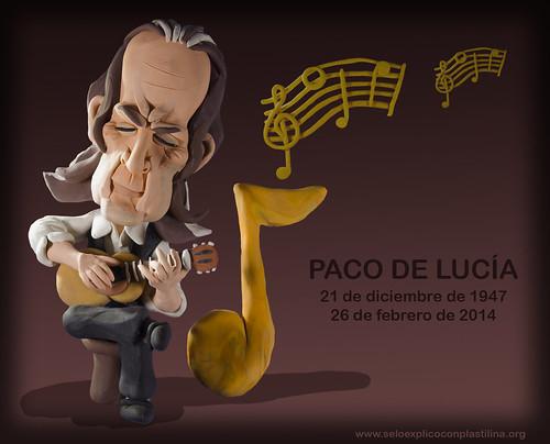 Paco de Lucía by alter eddie