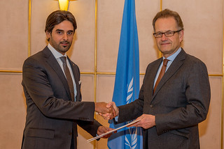 NEW PERMANENT REPRESENTATIVE OF QATAR PRESENTS CREDENTIALS