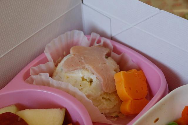 長榮航空 Hello Kitty 兒童餐沙拉