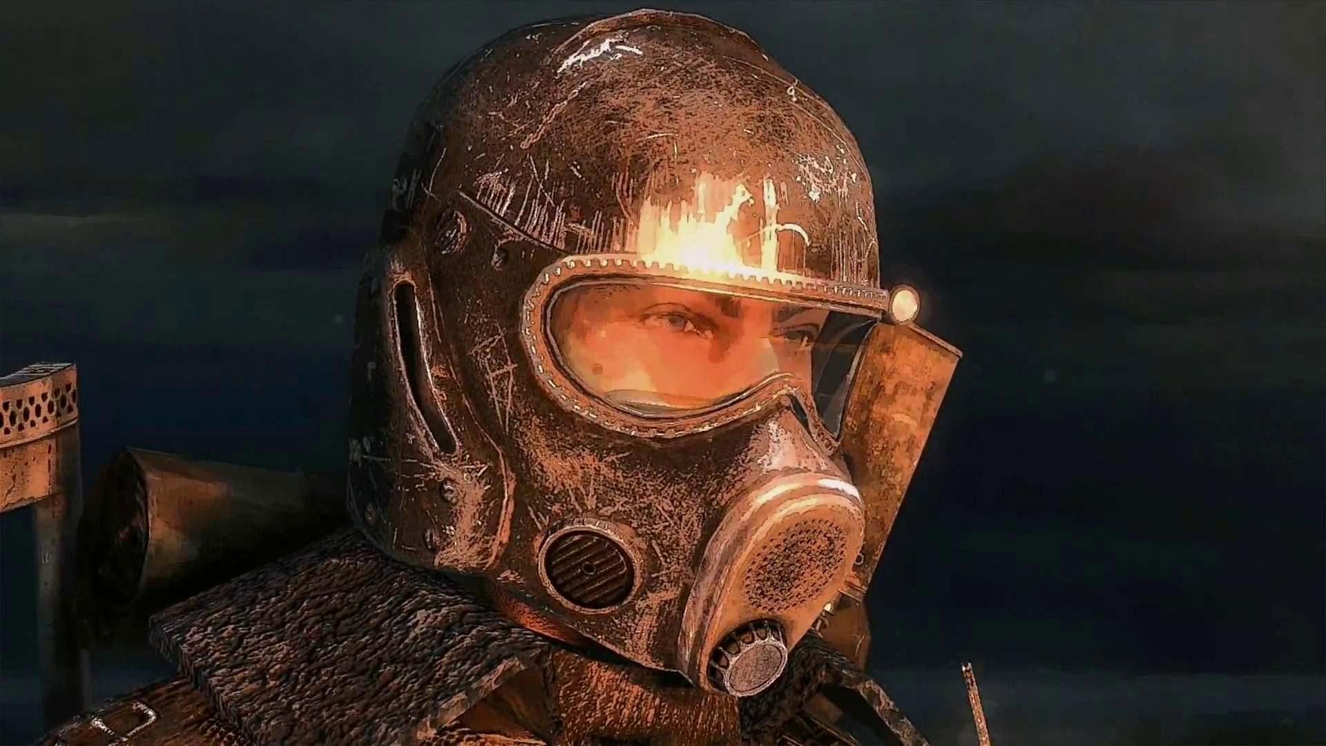 Metro Redux PS4 Comparison Screenshot 1