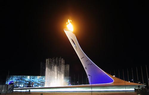 Sochi 2014 Olympic Flame