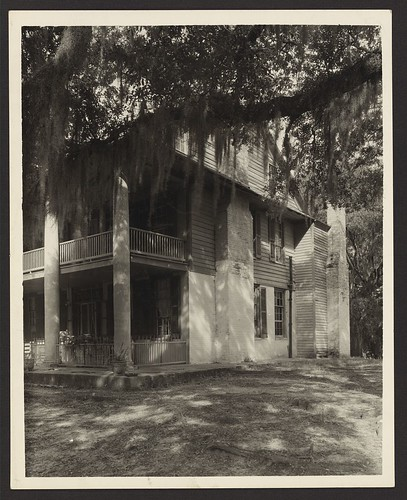 Unidentified house, Natchez vic., Adams County, Mississippi (LOC)